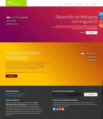 Formación de calidad en asturias. Cursos, talleres, workshops, diseño, desarrollo, web, multimedia, video