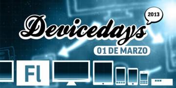 Evento Desarrollo Móvil y Dispositivos, DeviceDays 2013
