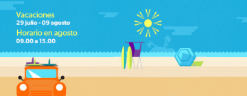 Periodo de vacaciones y horario de verano
